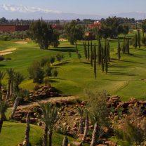 vue aérienne de l'Atlas Golf Marrakech